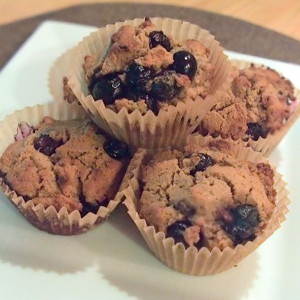 blueberry explosion muffins