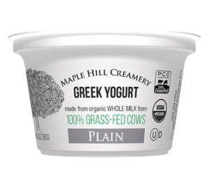 maple hill creamery greek yogurt